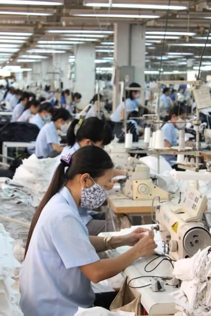 ユニホーム製造業のM&A/会社売却の写真