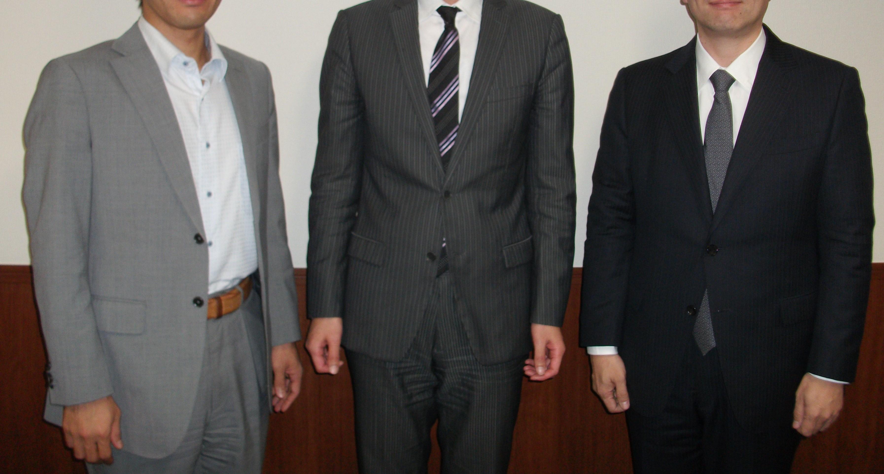 ITコンサルティング会社の成功社長インタビュー写真