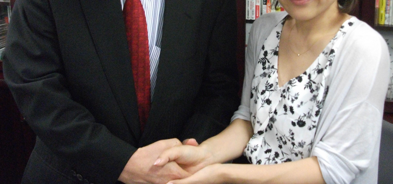 ネイルサロンの成功社長インタビュー写真