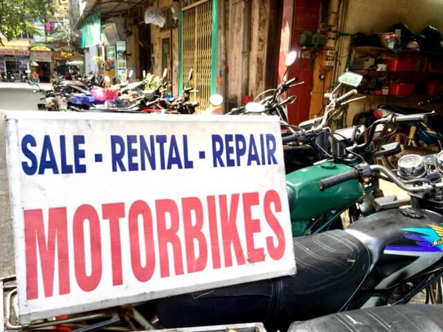 バイク店のM&A/会社売却の写真